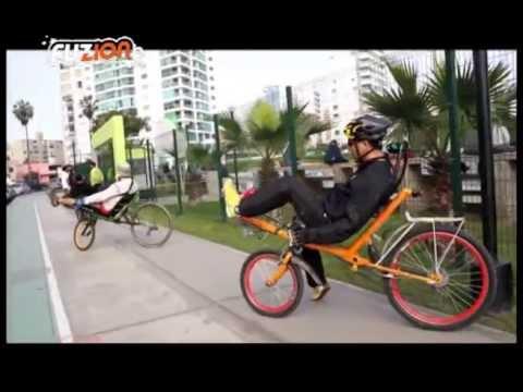 Recumbent Bicycle (Bicicletas Reclinadas)