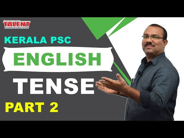KERALA PSC | ASSISTANT GRADE | CPO | ENGLISH GRAMMAR TRICKS | TENSE - PART 2