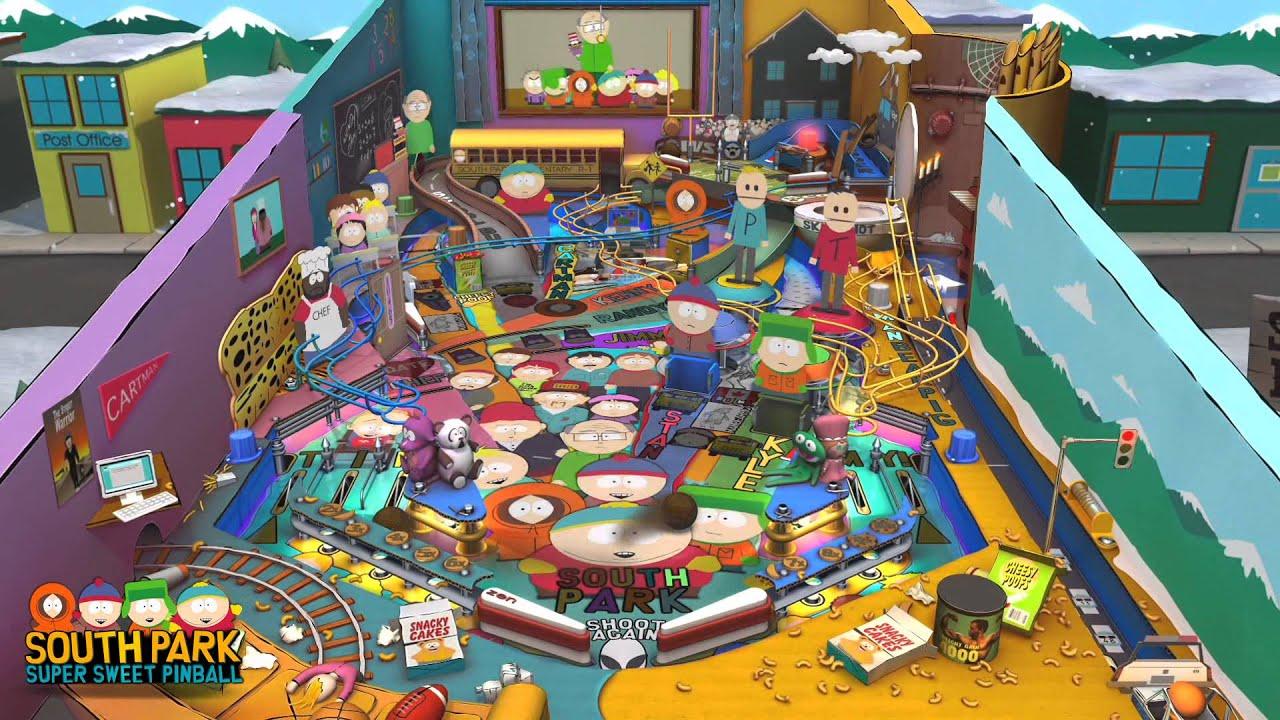 I tavoli di South Park in arrivo questa settimana su Zen Pinball 2