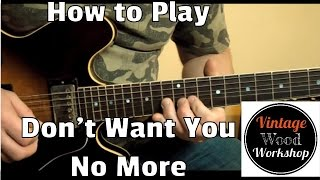 Don't Want You No More Lesson- Allman Brothers Band