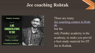 Best IIT jee institute in Rohtak