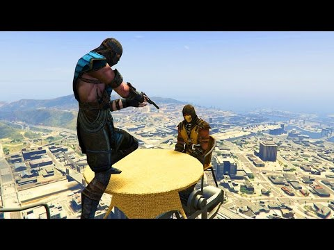 GTA 5 CRAZY Compilation (GTA V Sub-Zero Scorpion Funny Moments Fail)