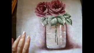 Como fazer a transparência na pintura em tecido