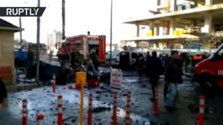 Девять человек пострадали при взрыве в турецком Измире