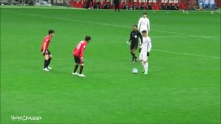 上海上港のオスカルOscar選手の浦和レッズの選手達を個人技で圧倒するタッチ集