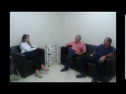 Vice prefeito Bernardo com a Deputada Estadual Analice Fernandes