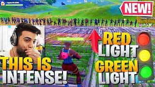 I Hosted a HUGE Red Light Green Light Contest! (New Mode!) - Fortnite Battle Royale