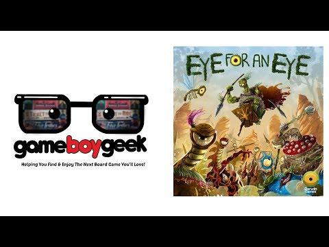 The Game Boy Geek Previews Eye for an Eye