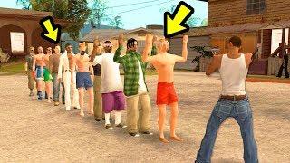 Сколько людей может убить 1 пуля в GTA San Andreas...😱