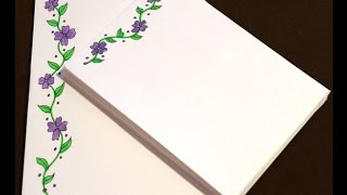 DIY Creative Stationery
