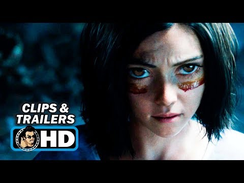 ALITA: BATTLE ANGEL Clips + Trailers