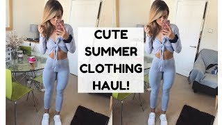 SUMMER CLOTHING HAUL | Essentials for Summer - Try on!