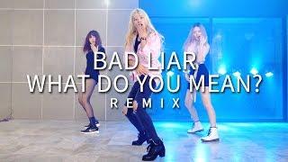 Selena Gomez - Bad Liar / Justin Bieber - What Do You Mean? Remix Rose Quartz Dance Practice