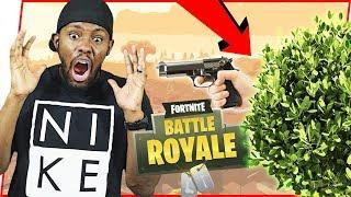 LATE GAME KILLER BUSH! - FortNite Battle Royale Ep.47