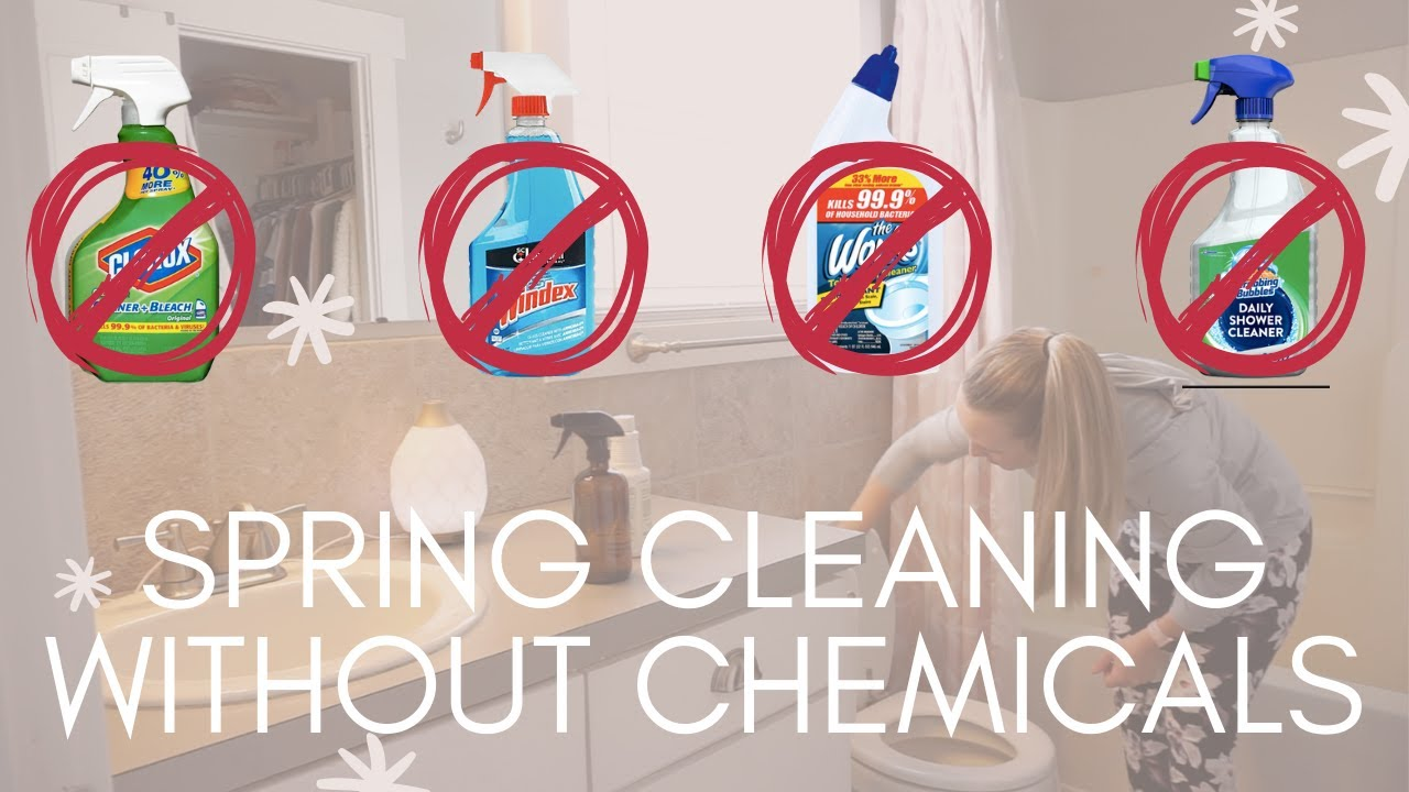 How To Spring Clean Without Harsh Chemicals | Cleaning With Essential Oils