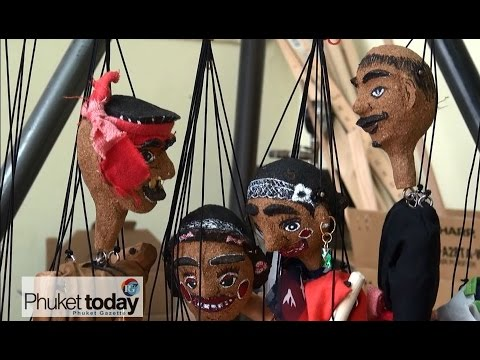 Harmony World Carnival puppeteers to perform in Phuket Town, Sunday 16th