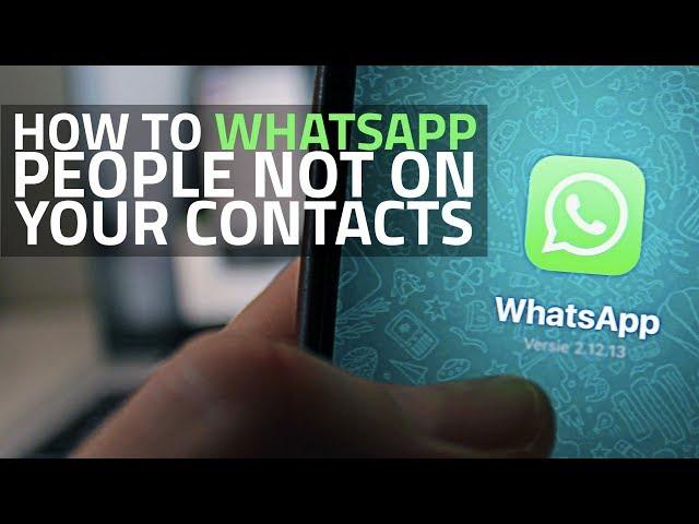 كيفية إرسال رسالة إلى رقم غير محفوظ في واتسابhttps://hiwhats.com/