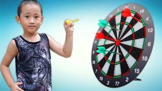 Trò Chơi Phi Tiêu - Bé Nhím TV - Đồ Chơi Trẻ Em Thiếu Nhi