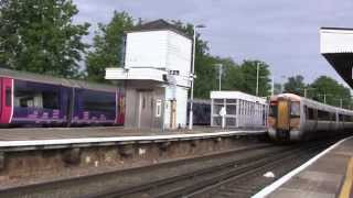 preview picture of video 'Rochester Railway Station, Kent, England - 3rd June, 2014'