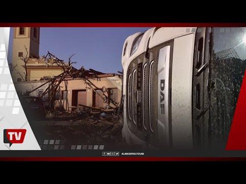 إعصار مدمر يجتاح جمهورية التشيك