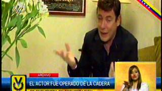 El actor Carlos Mata fue operado de la cadera