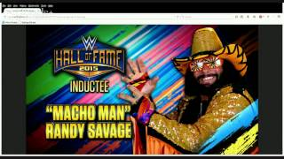 """""""Macho Man"""" Randy Savage announced for WWE Hall of Fame Class of 2015: Raw, January 12, 2015"""