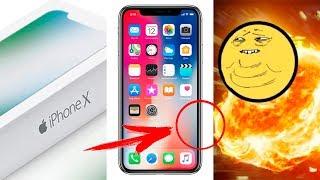 iPhone X - ЗАШКВАР?