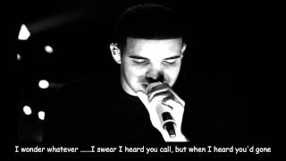 Drake - Where Were You feat. Dawn Richard (On Screen Lyrics)