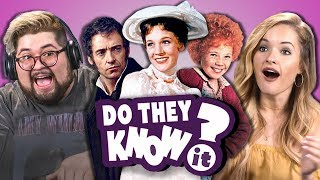 DO COLLEGE KIDS KNOW MOVIE MUSICALS? #2 (REACT: Do They Know It?) - dooclip.me