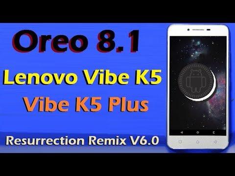 Lenovo Vibe K5/Plus Android 8 1 Oreo Update   Stable AOSP