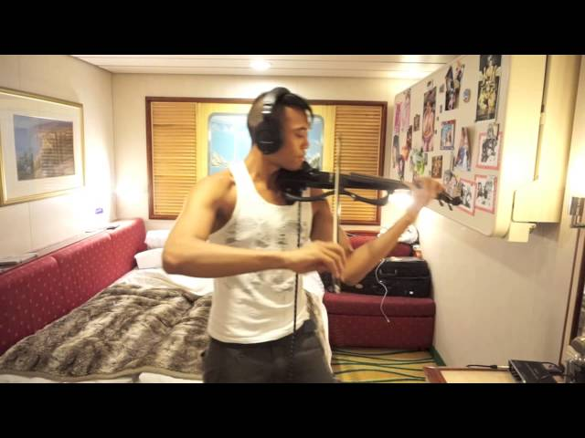Chandelier: Violin Cover - The Awesomer