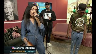 Performance By DJ PH ROUGE & MANU WORLDSTAR | Afternoon Express | 8 April 2019