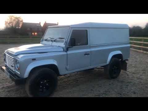2011 landrover defender 110 van no vat 15995 now for sale