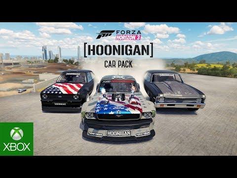 Forza Horizon 3 Hoonigan Car Pack Video thumbnail