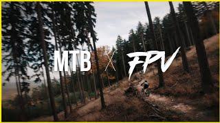 MTB x FPV Drone - Cinematic