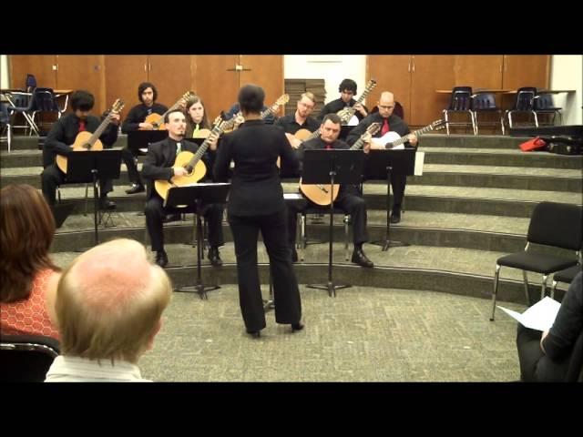 Canção (Brazilian Folk Song) - Guitar Orchestra