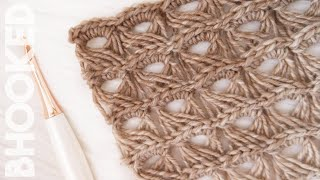 How To Crochet Broomstick Lace Step-by-Step