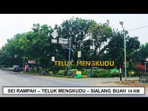 SEI RAMPAH - TELUK MENGKUDU - SIALANG BUAH Jalanan Kabupaten Serdang Bedagai