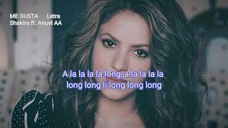 Me Gusta - Shakiraft.Anuel AA (letra 2020)