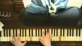 アンジェラアキ ・ 「We're All Alone」 ・ ピアノソロ