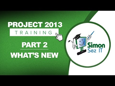 Project 2013 for Beginners Part 2: What's New in Microsoft Project ...