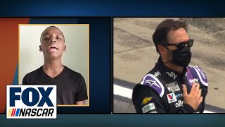 Viral Sensation Keedron Bryant Sings National Anthem At Folds Of Honor QuikTrip 500 | NASCAR ON FOX