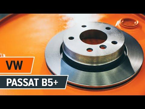Wie VW PASSAT B5+ Bremsscheiben vorne und Bremsbeläge vorne wechseln TUTORIAL | AUTODOC