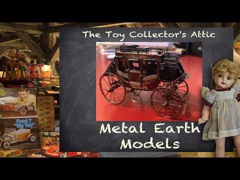 Metal Earth Models - Karyn's new obsession