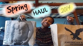 Spring Clothing Haul 2014! Hollister, A&F, American Eagle, + More!