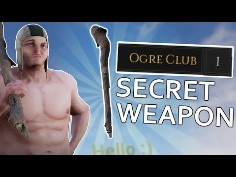 The Secret Weapon in Mordhau