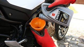 [CB 500 F] Öl & Ölfilter wechseln