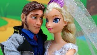 Frozen Elsa y Hans boda con Anna Kristoff ¿Se van a Casar? Maléfica y Troll