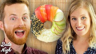 We Tried Making Rainbow Sushi Donuts