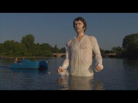 Statue Von Colin Firth Im Hyde Park Erschreckt Spaziergänger